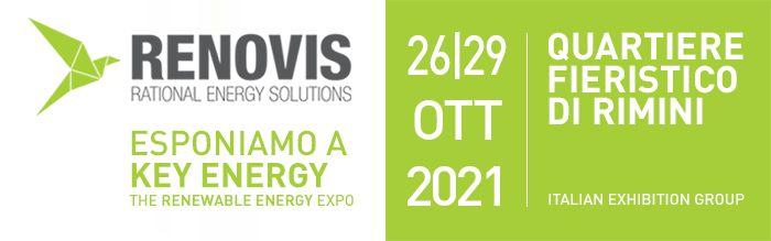 Rimini, Italie 26 - 29 octobre 2021 nous participerons à la foire Key Energy