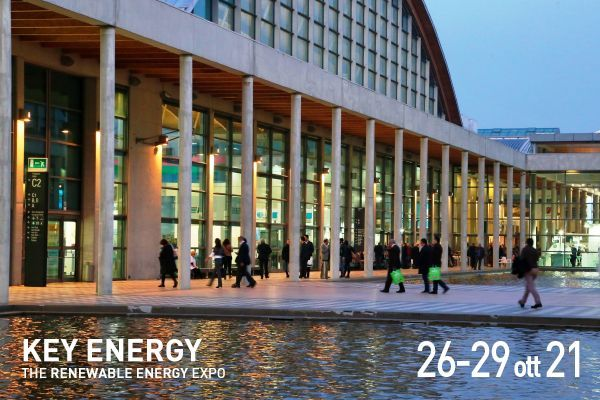 Rimini, Italy 26 - 29 October 2021 we join the Key Energy exhibition