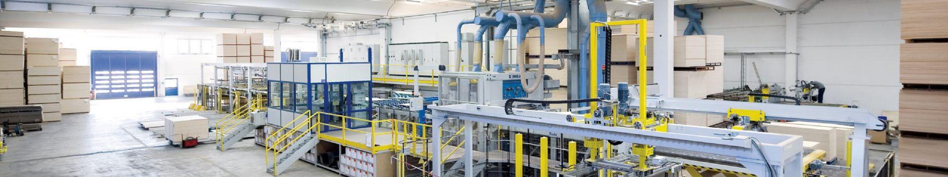 Monitoraggio e riduzione consumi nella produzione di compensato