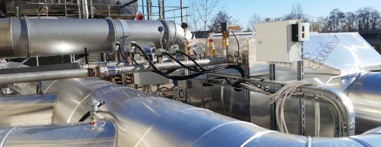 Revamping di centrali a vapore