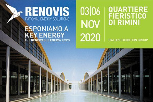 Key Energy, Salone dell'Energia e della Mobilità Sostenibile - 03/06 Novembre 2020