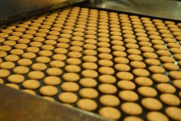 Prodotti da forno: forni di biscottifici, ecc.