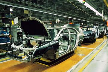 Automotive: trattamento metalli, verniciatura